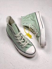 图2_Converse All Star 1970S 复古搭配匡威三星帆布鞋 原装二次硫化底 侧胶夹层 纸板底 区别之前 涂油底 海代指定版 35 44