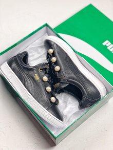 图1_PUMA Platform Bling 珍珠系列广货专区 PUMA颠覆传统 华美升级 全新Suede Platform Bling珍我甜心惊艳上线 延续经典鞋型 融合全新元素 创造出不可能的可能 呈现 珍我 风格 35 40