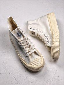 图2_Excelsior 饼干多色陆续出货 法国一路火到韩国的品牌 Excelsior 低帮复古生胶饼干帆布鞋 火遍ins款 这个夏季必须来一双 原工艺 与代购500 品质绝对相同 SIZE 35 44