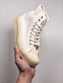 图3_Excelsior 饼干多色陆续出货 法国一路火到韩国的品牌 Excelsior 低帮复古生胶饼干帆布鞋 火遍ins款 这个夏季必须来一双 原工艺 与代购500 品质绝对相同 SIZE 35 44