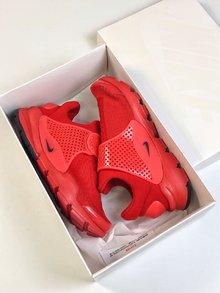 图1_Nike Sock Dart 独立日三色系列以纯红纯白和纯蓝打造的3 款全新配色 结合颇具现代感的鞋型设计 三款配带来十足的视觉冲击力 为你的夏季出街再添全新缤纷选择 SIZE 36 45