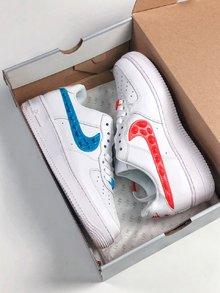 图1_Nike Air Force 1 07 SE LX 空军一号鸳鸯勾休闲板鞋 AJ0867 146 Size 40 45