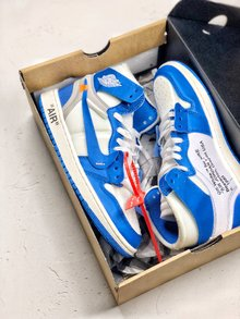 图1_OFF White x Nike Air Jordan 1 重磅联名从打板到后期成型 前前后后改了十几次 因为一个细节不满意 直接作废一千多双 终不负众望 做出来让大家满意的鞋子 SIZE 40 40 5 41 42 42 5 43 44 44 5 45