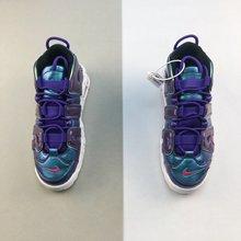 图3_Nike Air More Uptempo GS Purple Iridescent 皮蓬经典高街百搭篮球鞋系列 紫色变色龙 货号 922845 500 Size 36 36 5 37 5 38 38 5 39
