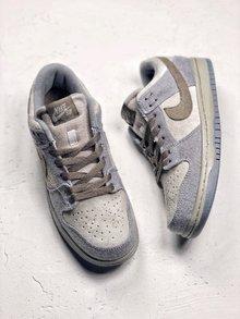 图2_Nike Dunk Low Premium SB 星球大战 NikeSB推出的这款Dunk Low 其灵感来自于StarWars中霍斯星球上独有的Tauntaun雪兽 整体鞋面选用了高档小山羊皮制作而成 并以深浅灰色tone呈现 货号 854866 206 SIZE 36 45