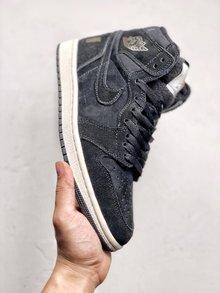 图3_Nike Air Jordan 1 Retro High 冬季搭配耐克 Nike Air Jordan 1 Retro High OG 优质进口头层反毛头层皮 冬季内里加绒 搭配羊毛舌头 后跟字母LOGO 乔一高帮板鞋 货号 BQ6579 002 SIZE 40 40 5 41 42 42 5 43 44 44 5 45 46