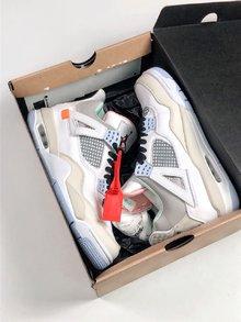 图1_Air Jordan 4 Retro Encore 限量版 AJ4 乔4 头层皮面篮球鞋 930115 001 size 40 5 41 42 42 5 43 44 44 5 45 46 47