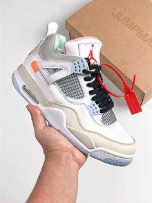图2_Air Jordan 4 Retro Encore 限量版 AJ4 乔4 头层皮面篮球鞋 930115 001 size 40 5 41 42 42 5 43 44 44 5 45 46 47