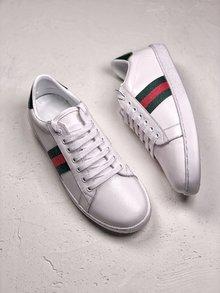 图2_GUCCI Ace Embroidered 轻奢单品拼色刺绣系列低帮板鞋