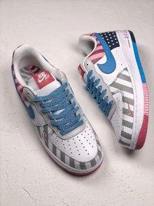 图2_Piet Parra x NIKE AF1 联名系列全网终端 公司级 耐克荷兰先锋艺术家Piet Parra x 耐克 Nike AF1 超限量跑鞋 彩虹游乐园鞋 36 44