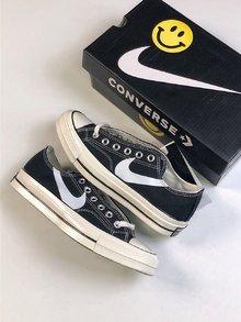 图1_Chinatown Marke x Nike x ConverseChuck Taylor All Star 1970s 重磅联名 低帮硫化帆布板鞋