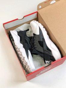 图1_Nike华莱士海外配色纯原版本独家出货 真标带半码 男女鞋Nike Air Huarache Run Ultra White Textile华莱士四代百搭慢跑鞋size 36 45