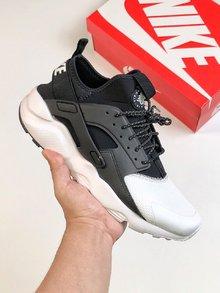 图2_Nike华莱士海外配色纯原版本独家出货 真标带半码 男女鞋Nike Air Huarache Run Ultra White Textile华莱士四代百搭慢跑鞋size 36 45