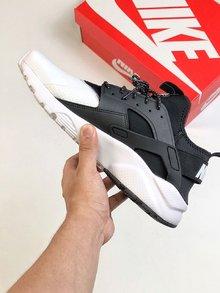 图3_Nike华莱士海外配色纯原版本独家出货 真标带半码 男女鞋Nike Air Huarache Run Ultra White Textile华莱士四代百搭慢跑鞋size 36 45