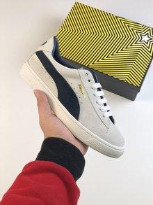 图2_广东高版 PUMA彪马 成立50周年纪念款 x QQ空间 联名款限量1948年以来 PUMA彪马 追逐复古与潮流 PUMA 彪马 专柜最新款 头层牛反绒面料 羊皮内里 环保乳胶羊皮鞋垫 size 35 39