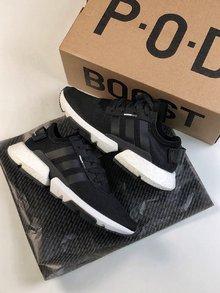 图1_adidas Originals POD S3 1 Boost 全新爆米花轻跑老爹鞋全新的鞋底配置 中底后半部分采用BOOST材质 而外底则看上去也更富机能感觉超强的性能 size 36 44 5