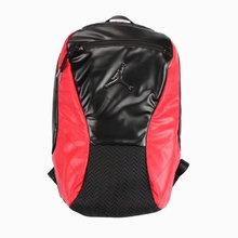 图1_注意 没有质量问题不退不换 AJ 12黑红双肩包 AJ系列背包中之经典之作 采用顶级原厂头层牛皮 柔软舒适耐脏 包底是柔软硅胶材料 后背采用加厚透气网面 size 46x40x19 cm