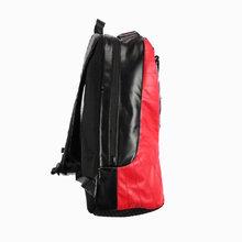 图2_注意 没有质量问题不退不换 AJ 12黑红双肩包 AJ系列背包中之经典之作 采用顶级原厂头层牛皮 柔软舒适耐脏 包底是柔软硅胶材料 后背采用加厚透气网面 size 46x40x19 cm