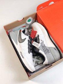 图1_定制联名 耐克Nike Air Zoom Structure 22 登月22代 off white 联名款 脚感不错 喜欢得不要错过跑鞋Size 40 40 5 41 42 42 5 43 44 45