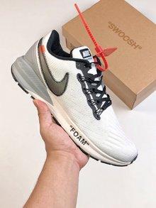 图2_定制联名 耐克Nike Air Zoom Structure 22 登月22代 off white 联名款 脚感不错 喜欢得不要错过跑鞋Size 40 40 5 41 42 42 5 43 44 45