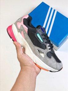 图2_阿迪达斯ADIDAS CONTINETAL 80 三叶草 FALCON W复古撞色老爹鞋 性价比版本出货size 36 39