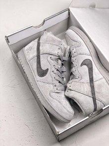 图1_Nike Dunk Sb x Reigning Champ 卫冕冠军继 Nike Air Force 1 X Reigning Champ 带来最火联名空军之后 NIKE再次为旗下经典鞋款 Nike SB Dunk带来此系列联名 此番联名依旧采用 低调灰色 选用质感麂皮做鞋面的同时搭配 3M 反光Logo呈现 货号 AH9166 167 SIZE 39 40 40 5 41 42 42 5 43 44 5 45