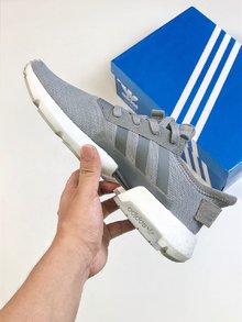 图3_Adidas 阿迪达斯 Pod S3 1 Boost 巴斯夫料米鱼鳞爆米花 B37366 休闲运动跑步鞋 size 40 40 5 41 42 42 5 43 44 44 5