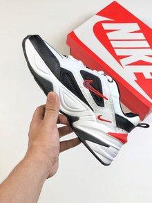 图3_Nike W M2K Tekno 2018复古老爹鞋 潮流百搭 黑白红尾size 36 44 5货号 AO3108 004