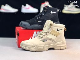 图1_Nike Rosherun 耐克高帮牛仔布机能运动板鞋 货号 2102325