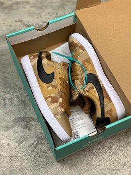 图1_核心主推公司级 毒版本Nike 耐克SB Blazer Zoom Low CNVS 男女低帮迷彩滑板鞋尺码 36 36 5 37 5 38 38 5 39 40 40 5 41 42 42 5 43 44 45