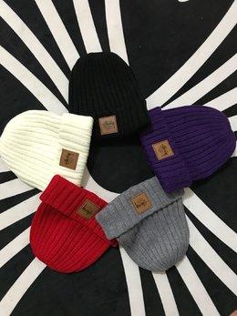 图1_斯图西stussy嘻哈帽男女情侣针织帽欧美保暖冷帽新款毛线帽 颜色 黑色 紫色 白色 红色 灰色