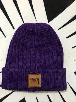 图3_斯图西stussy嘻哈帽男女情侣针织帽欧美保暖冷帽新款毛线帽 颜色 黑色 紫色 白色 红色 灰色