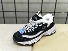 图1_加绒款Skechers斯凯奇D lites 一代黑白熊猫鞋运动潮鞋 35 40货号 99999720