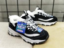 图3_加绒款Skechers斯凯奇D lites 一代黑白熊猫鞋运动潮鞋 35 40货号 99999720