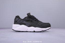 图1_耐克Nike Air Huarache Run Ultra Br 华莱士四代呼吸鞋面系列复古慢跑鞋318429 111 2428H0114