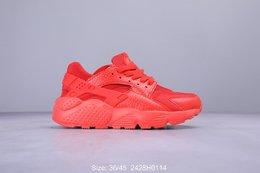 图3_耐克Nike Air Huarache Run Ultra Br 华莱士四代呼吸鞋面系列复古慢跑鞋318429 111 2428H0114