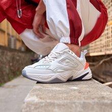 图3_真标高品质 现货主推 Off White客制联名Virgil Abloh x Nike M2K Tekno耐克 复古双勾老爹鞋米色 Size 36 37 5 38 39 40 41 42 43 44 45