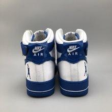 图2_专柜客户指定版本纯原 真标公司级 头层打造 纪念拉希德 华莱士Nike Air Force 1 High Retro CT16 QS 空军一号高帮篮球板鞋 怒吼天尊白蓝 AQ4229 100冠军 16 系列之一Nike Air Force 1 Hi