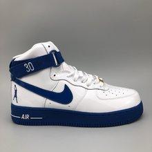 图3_专柜客户指定版本纯原 真标公司级 头层打造 纪念拉希德 华莱士Nike Air Force 1 High Retro CT16 QS 空军一号高帮篮球板鞋 怒吼天尊白蓝 AQ4229 100冠军 16 系列之一Nike Air Force 1 Hi